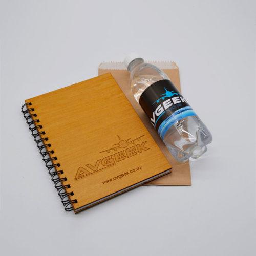Avgeek Wooden Notebook