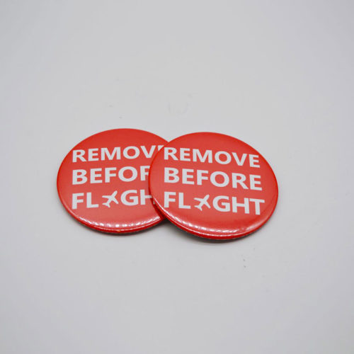 Removed Before Flight Button