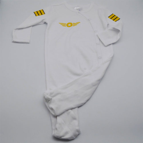 Pilot Uniform White Babygrow