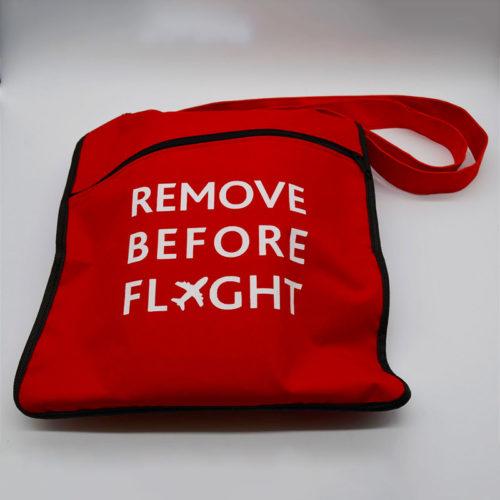 Remove Before Flight Sling Bag