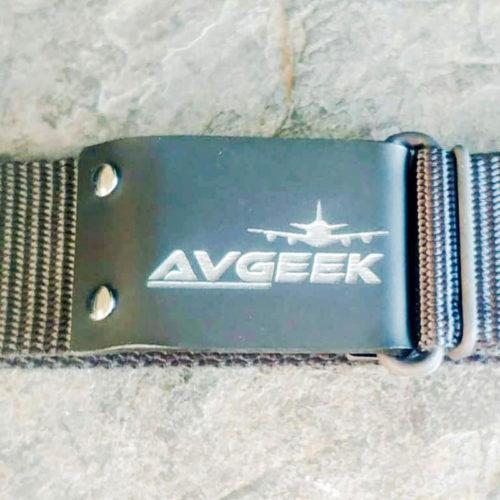 Avgeek Leatherette Belt