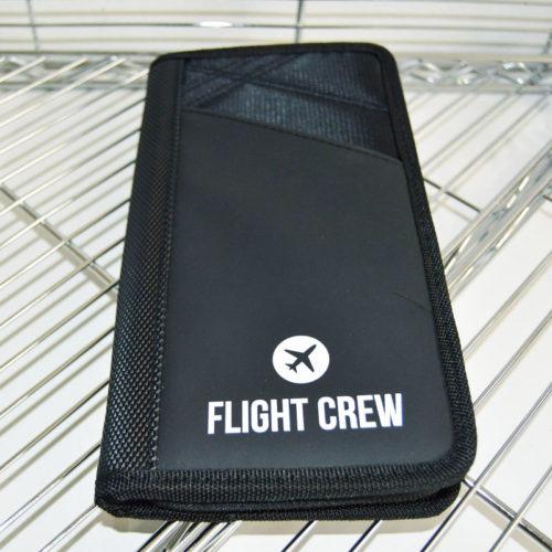Black Flight Crew Card Holder