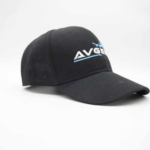 Avgeek 6 Panel Cap with Velcro Strap
