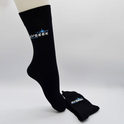 Avgeek Black Socks