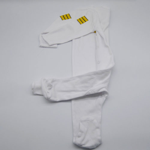 Pilot Uniform White Babygrow