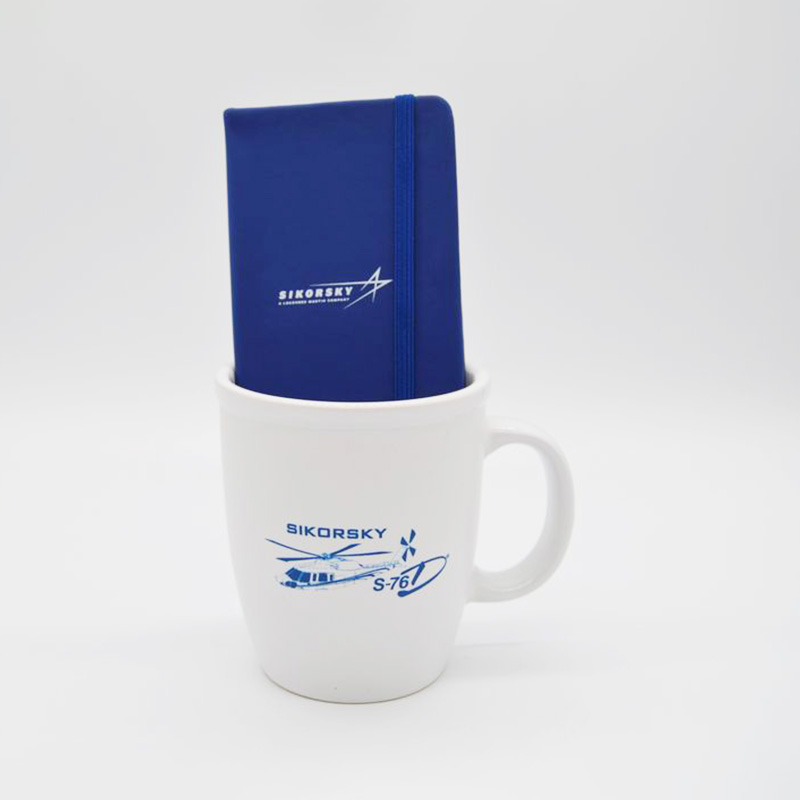 Sikorsky Mug and Notebook