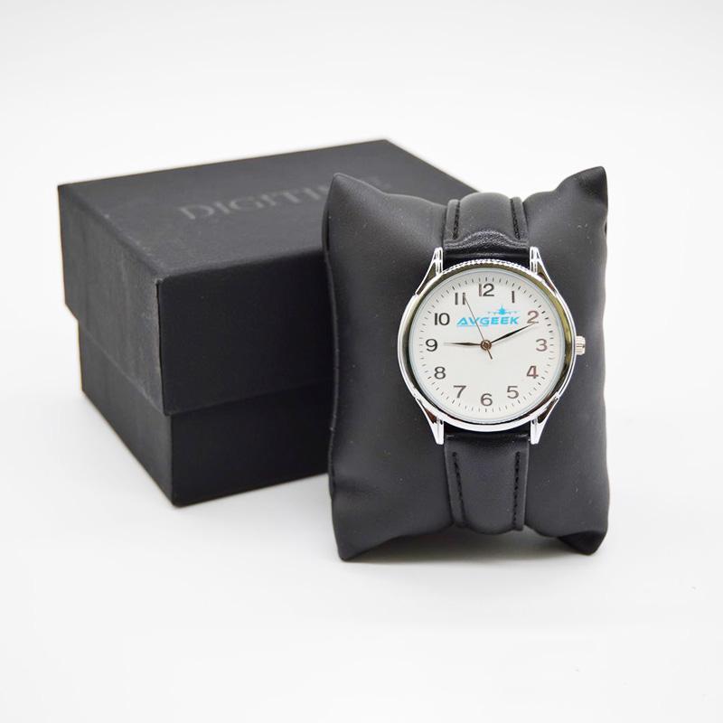 Avgeek Leatherette Watch