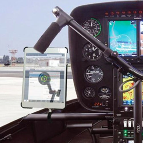 Robinson Helicopter Console Bar Mount
